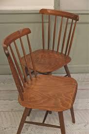 chaises thonet slavia vintage mobilier vintage lot de 2 chaises thonet ton des