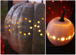 Pumpkin Carving With Drill by 17 Apart How To Drilling Pumpkins
