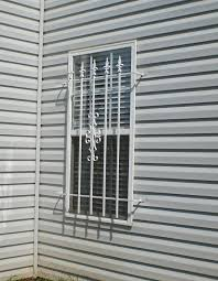 Decorative Security Bars For Windows And Doors by Creative Window Security Bars Follows Newest Article Asfancy Com