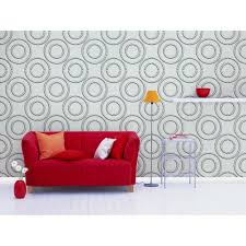 Home Depot Wall Tiles Self Adhesive by Donny Osmond Home 19 6 In X 19 6 In Self Stick Circles Pattern