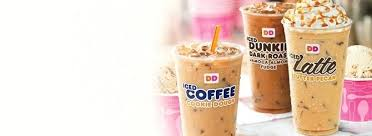 Dunkin Donuts New Iced Coffee Flavors Flavored June 2018