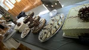 Rustic Wedding Sheet Cake Cookies