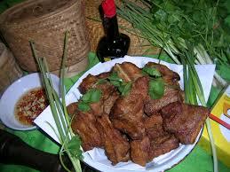 cuisiner coeur de porc travers de porc frit cuisine travers de porc frit