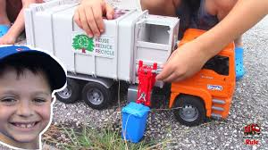 Garbage Truck Videos For Children L Picking Up Blue Garbage Cans ... Garbage Truck Videos For Children L Playing With Bruder And Tonka Toy Truck Videos For Bruder Mack Garbage Recycling Unboxing Song Kids Alphabet Learning Youtube Garbage Truck Kids Videos Learn Transport Toy Video Green Articles Info Etc Pinterest Surprise Unboxing Quad Copter At The Cstruction