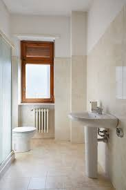 Download Simple Bathroom In Normal Apartment Stock Image