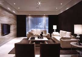 light wood wall finishing combined with black painting brown