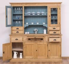 casa padrino landhausstil küchenschrank naturfarben hellblau 180 x 50 x h 197 cm massivholz esszimmerschrank esszimmermöbel im landhausstil