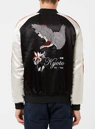veste souvenir réversible brodée vestes u0026 manteaux homme