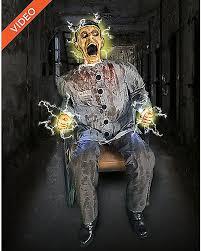 Cheap Animatronic Halloween Props by 4 5 Ft Electrocuted Prisoner Animatronics Decorations