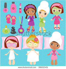 Spa Elements For Kids Party