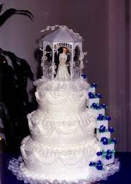 Traditional Mexican Wedding Cake toppers