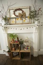 Primitive Decorating Ideas For Fireplace by 52 Best Fireplace Mantels Images On Pinterest Fireplace Ideas