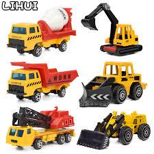 100 Construction Trucks US 1276 30 OFF6 PCS Set Mini Alloy Engineering Car Model Toys For Children Dump Truck Toy Diecast Plastic Vehicles Gift For Boysin