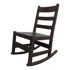 Antique Stickley Ladder Back Tiger Oak Rocker Rocking Chair   Chairish Edwardian Oak Swivel Desk Chair Bagham Barn Antiques Frontier Fniture Repair And Restoration Rocker Office Agio Patio Rocking Chairs Glider The Home Depot 2 Classic Poly Creek Amish Best Rated In Helpful Customer Reviews Amazoncom Ow Lee Classico Club Ding Jive Furnishings Glide Kaylee Barrel Arm Bronwyn Alloy Recliner Breegin End Table Atlas Portland Dressing Mirror Sleigh Back Mattress Store