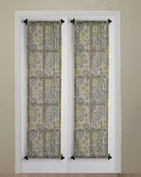 Front Door Side Window Curtain Rods by The 25 Best Front Door Curtains Ideas On Pinterest Door