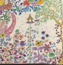 2015 Secret Garden Coloring Book Art Adult Hand Drawn Pencil Antistress Graffiti Painting Drawing Cartoon