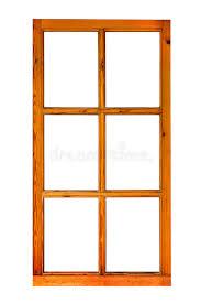 cadre en bois d une fenêtre sans verre photo stock image 74692056