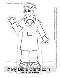 Daniel Grown Up Bible Character Paper Doll To Stand