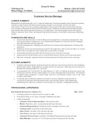 Customer Service Supervisor Resume Elegant Manager Unique