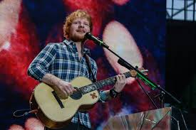Ed Sheeran Performs On Stage At Wembley Stadium July 10 2015 In London