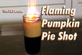 Cooked Pumpkin Pie Moonshine by How To Make A Flaming Pumpkin Pie Shot Thefndc Com Youtube