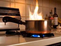 How Do You Put Out A Stovetop Fire