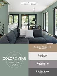 ppg names paradise found as color of the year 2016 shades in a