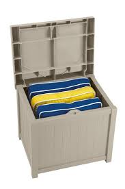 furniture cheap deck box suncast deck box 73 gallon deck box
