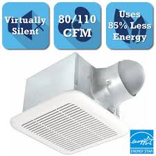Nutone Bathroom Exhaust Fan Manual by Nutone Invent Series 110 Cfm Ceiling Exhaust Bath Fan Energy Star