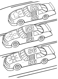Free Race Car Coloring Page Pages To Print