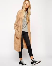 lange mohairstrickjacke longline cardigan long cardigan and clothes