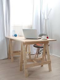 fabrication d un bureau en bois diy meuble 34 meubles à fabriquer soi même pour votre intérieur