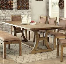 Wood Fine Furniture Vibrant Gianna 96 Inch Dining Room Set Formal Sets Most Table