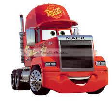 100 Disney Mack Truck Hauler 10 MACK TRUCK Semi Rig Cars Removable Wall Decal Sticker Art