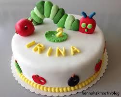 hannahs kreativblog raupe nimmersatt torte