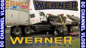 100 Werner Trucking Phone Number Enterprises Driver Rear Ended Flatbed Trailer FOLLOWING