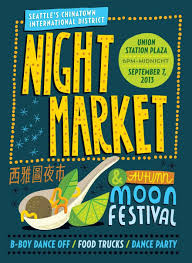 100 Food Truck Festival Seattle Chinatowns Night Market Moon A Million Cool