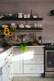 Exposed Shelving Can Give Your Kitchen A Natural Look And Encourage Cooking Using Colors Will Also Allow You To Play With Intricate Flooring Like
