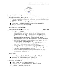 Medical Resume Objective Lovely 10 Sample Resume For Medical ... Executive Assistant Resume Objectives Cocuseattlebabyco New Sample Resume For Administrative Assistants Awesome 20 Executive Simple Unforgettable Assistant Examples To Stand Out Personal Objective Best 45 39 Amazing Objectives Lab Cool Collection Skills Entry Level Cna 36 Unbelievable Tips Great 6 For Exampselegant