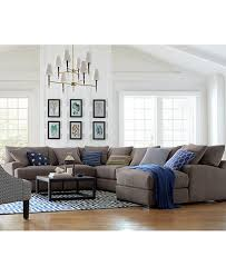 Rhyder Fabric Sectional Collection Created for Macy s Furniture