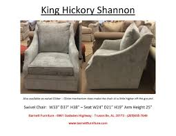Clayton Marcus Sofa Bed by Barnett Furniture Swivel Swivel Gliders