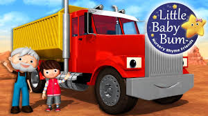 100 Little Trucks Song About Nursery Rhymes Original Songs By BabyBum