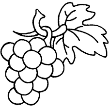 Grapes Are Berry Family Coloring Pages