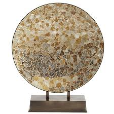 Pier 1 Mosaic Floor Lamp by Gold U0026 Silver Crackled Decorative Mosaic Platter W Pier 1 Imports