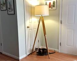 01 Gorgeous DIY Floor Lamps To Brighten Your