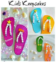 Kids Craft Flip Flop Keepsake