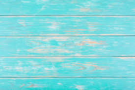 Dark Turquoise Wooden Background Stock Photo
