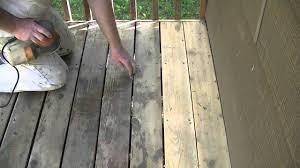 how to sand a cedar deck with a 5 5 orbital sander youtube
