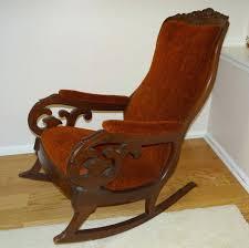Glider Rocking Chair Cushions For Nursery by Wooden Rocking Chair Cushions For Nursery Custom Chair Cushions