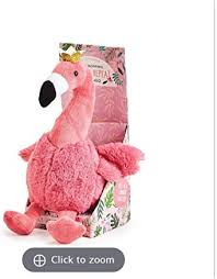 Cupcakes And Cartwheels Plush Pink Flamingo With Speak